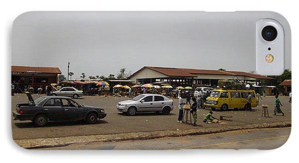 Moyamba Junction-markets IPhone Case