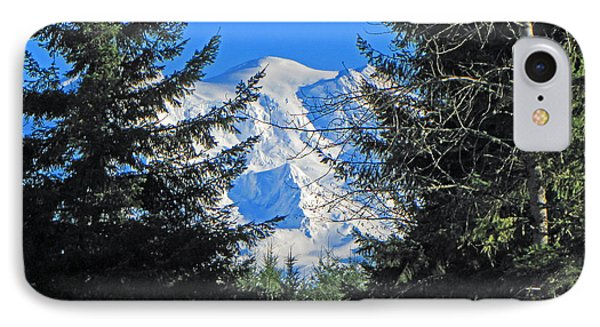 IPhone Case featuring the photograph Mt. Rainier I by Tikvah's Hope