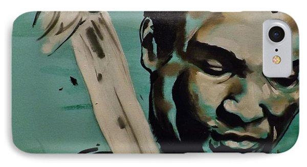 Muhammad Ali IPhone Case by Matt Burke