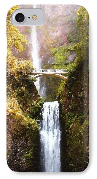 Multnomah Falls IPhone Case by Kaylee Mason