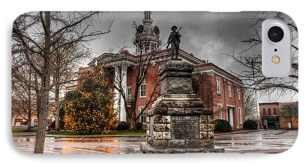 Murfreesboro Town Hall IPhone Case by Brett Engle