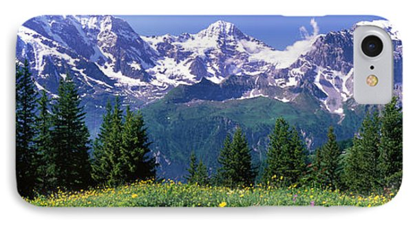 Murren Switzerland IPhone Case by Panoramic Images