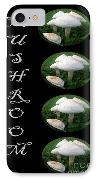 Mushroom Art Collection 1 By Saribelle Rodriguez IPhone Case by Saribelle Rodriguez