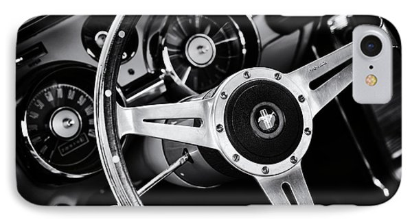 Mustang Interior  IPhone Case by Tim Gainey