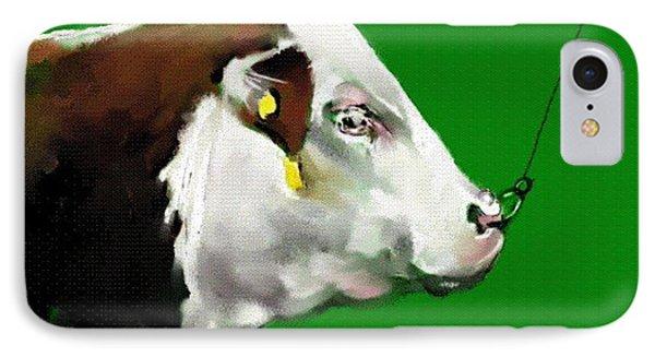 My Favorite Bull IPhone Case