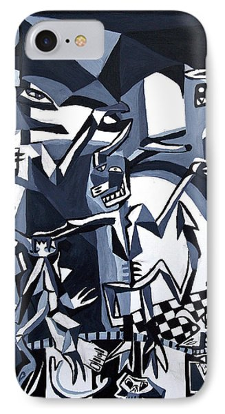 My Inner Demons IPhone Case by Ryan Demaree