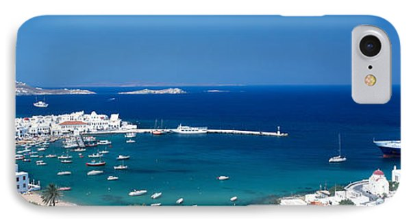 Mykonos Island Greece IPhone Case by Panoramic Images