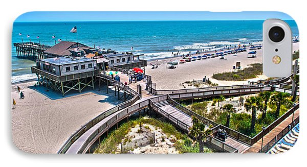 IPhone Case featuring the photograph Myrtle Beach South Carolina by Alex Grichenko