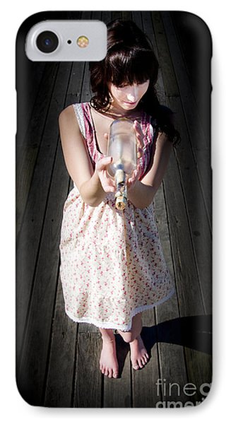 Mystery Message IPhone Case by Jorgo Photography - Wall Art Gallery