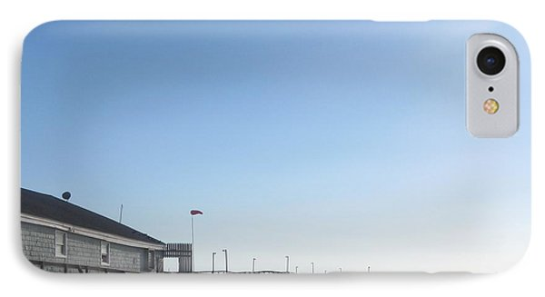 Nags Head Pier IPhone Case by Cathy Lindsey