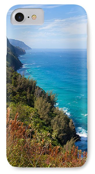 Napali Coast IPhone Case by April Reppucci