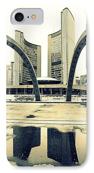 Nathan Phillips Square Phone Case by Valentino Visentini