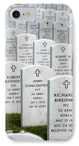 National Cemetery Of The Alleghenies Phone Case by Amy Cicconi