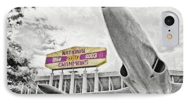 National Champions IPhone Case by Scott Pellegrin