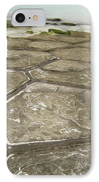 Natural Forming Pentagon Rock Formations Of Kumejima Okinawa Japan IPhone Case