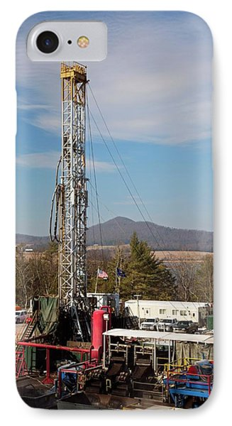 Natural Gas Well IPhone Case by Jim West