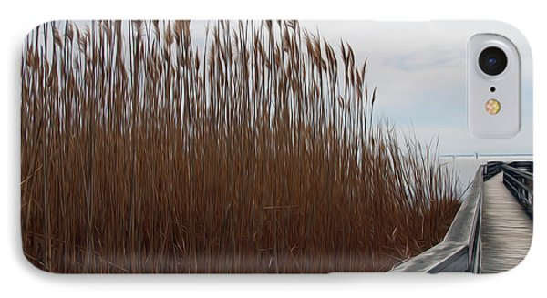 IPhone Case featuring the digital art Nature Walk by Kelvin Booker