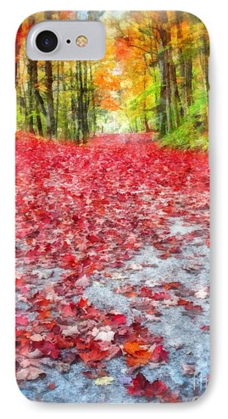 Nature's Red Carpet IPhone Case by Edward Fielding