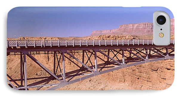 Navajo Bridge At Grand Canyon National IPhone Case by Panoramic Images