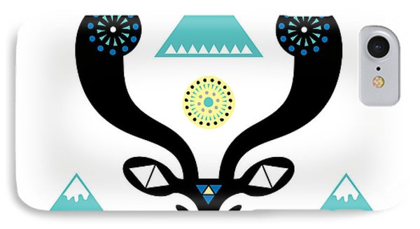 Navajo Deer Phone Case by Susan Claire