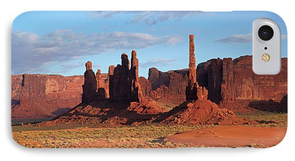 Navajo Nation, Monument Valley, Yei Bi IPhone Case by David Wall