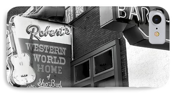 Neon Signs On Building, Nashville IPhone Case by Panoramic Images