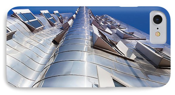 Neuer Zollhof Building Designed IPhone Case by Panoramic Images