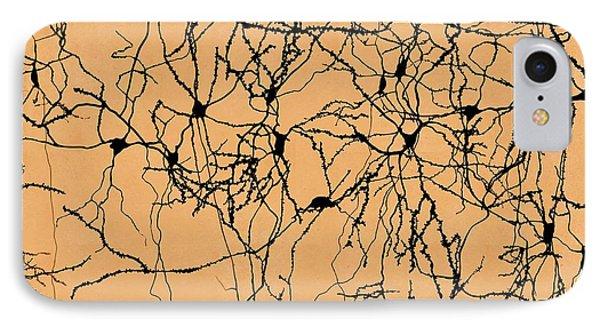 Neuron Network IPhone Case by Juan Gaertner
