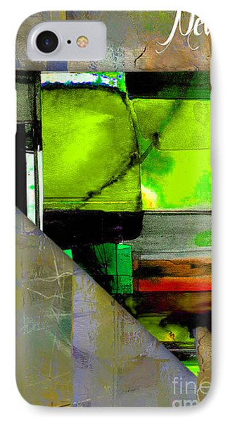 Nevada State Map Watercolor IPhone Case by Marvin Blaine
