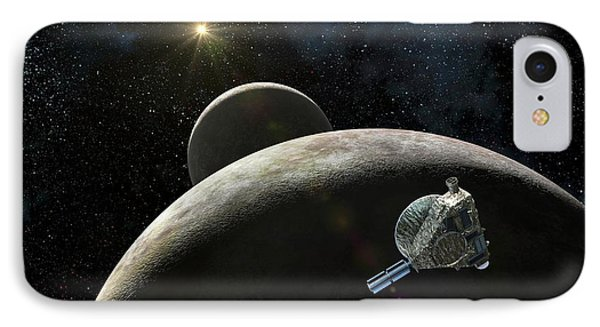 New Horizons At Pluto IPhone Case