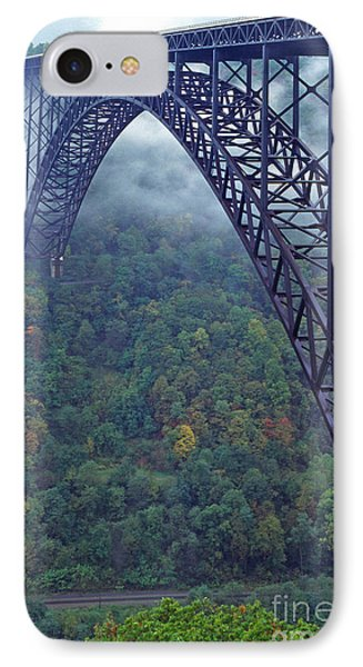 New River Gorge Bridge IPhone Case by Thomas R Fletcher