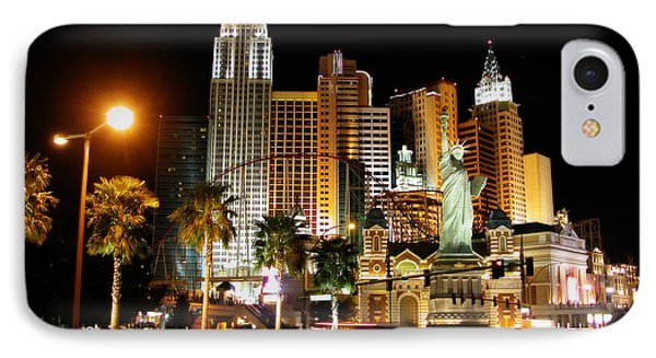 IPhone Case featuring the photograph New York Minute by Stuart Turnbull