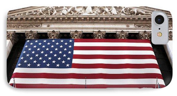 New York Stock Exchange Phone Case by John Rizzuto