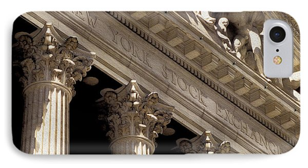 New York Stock Exchange IPhone Case by Jon Neidert