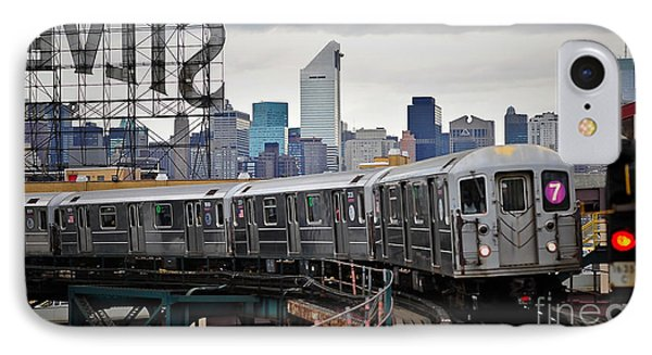 New York Train IPhone Case by Marvin Blaine