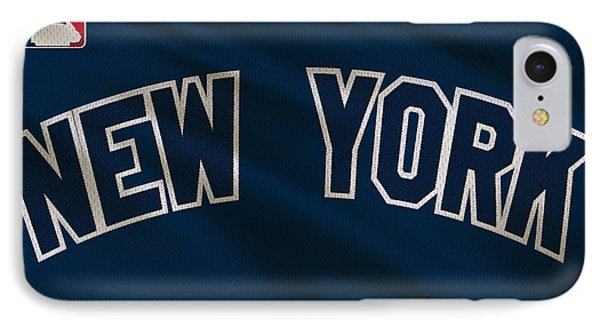 New York Yankees Uniform IPhone 7 Case by Joe Hamilton