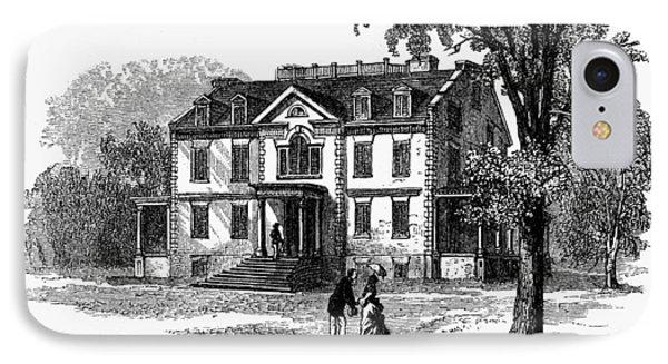 Newark Schuyler Mansion Phone Case by Granger