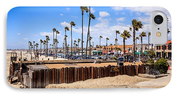 Newport Beach Dory Fishing Fleet Market Phone Case by Paul Velgos