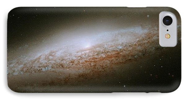 Ngc 2683 Spiral Galaxy IPhone Case by Celestial Images