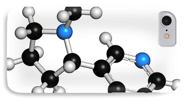 Nicotine Tobacco Stimulant Molecule IPhone Case