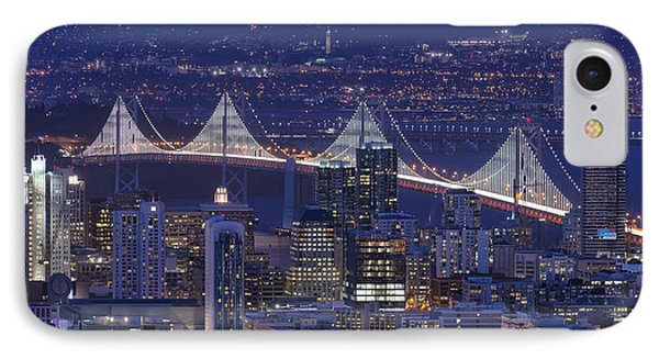Night Colors - San Francisco IPhone Case by David Yu