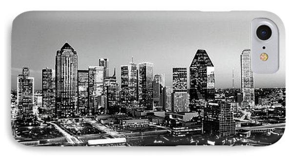 Night, Dallas, Texas, Usa IPhone Case