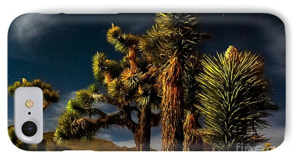 Night Desert IPhone Case by Angela J Wright