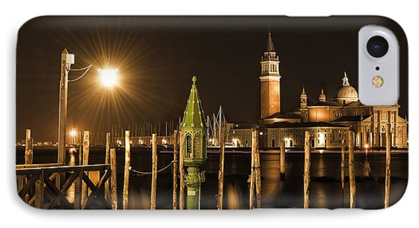 Night Lights IPhone Case by Marion Galt