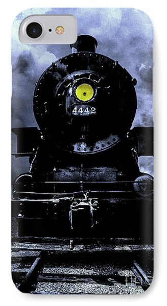 Night Train Essex Valley Railroad IPhone Case by Edward Fielding