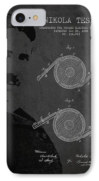 Nikola Tesla Patent From 1886 IPhone Case by Aged Pixel