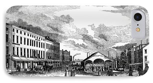 Norfolk, Virginia, 1856 IPhone Case