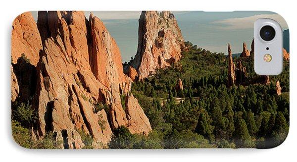 North America, Usa, Colorado Springs IPhone Case by Patrick J. Wall