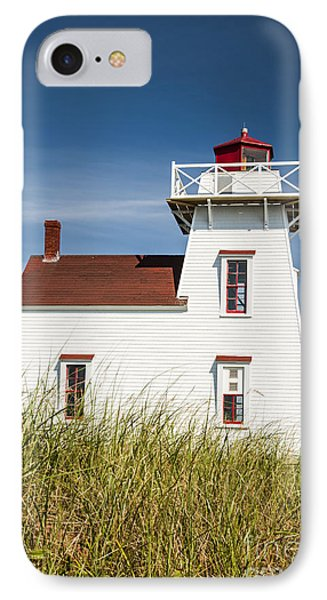 North Rustico Lighthouse IPhone Case by Elena Elisseeva