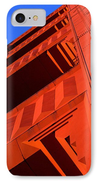 North Tower Golden Gate Bridge IPhone Case